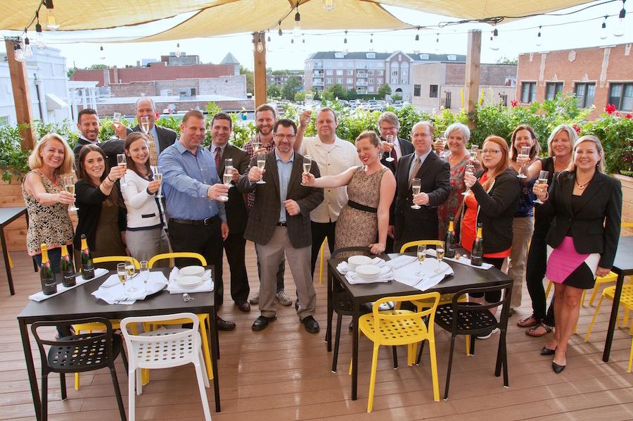 Grand Opening Celebration at fourteensixteen rooftop